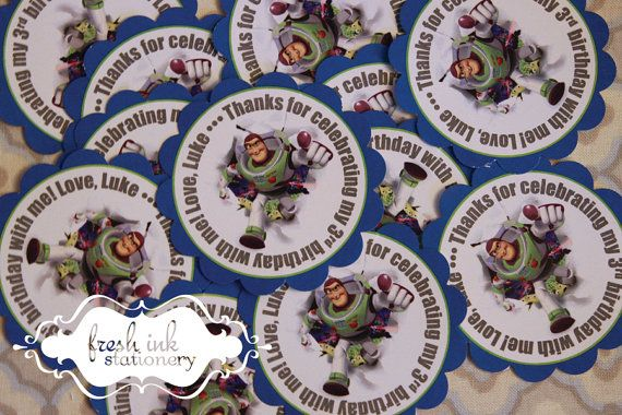 Personalized Buzz Lightyear Stickers