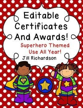 48 best awards and recognition for kindness and service images on delight your children with these editable superhero themed certificates and awards to be used all year yelopaper Gallery