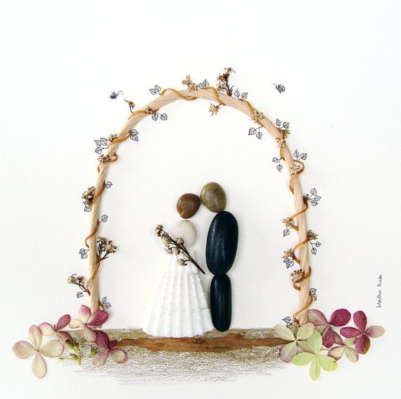 Personalized Wedding Gift Unique Engagement Gift by MedhaRode