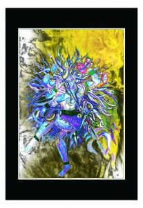 LORD RUDRA - Art work by Himanshu rai