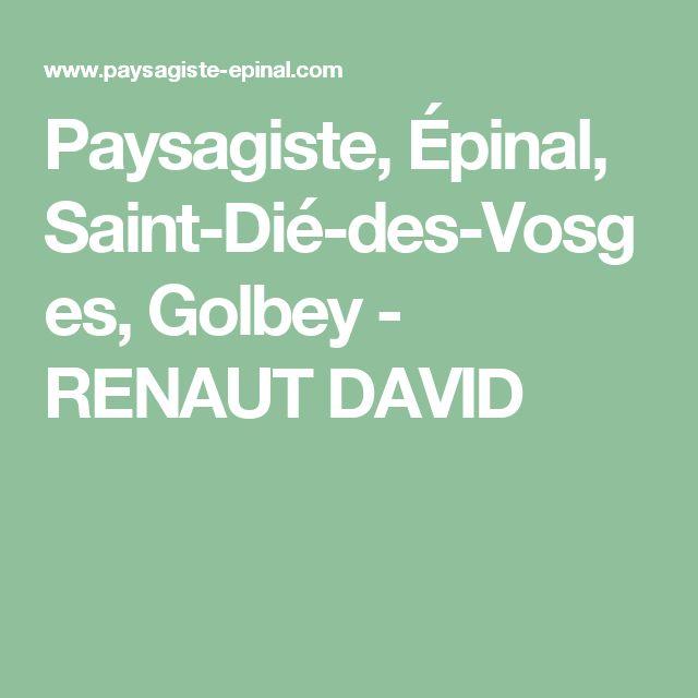 Paysagiste, Épinal, Saint-Dié-des-Vosges, Golbey - RENAUT DAVID