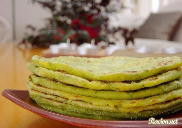 Рецепт Индийские блинчики парата с картошкой. Приготовление   блюда