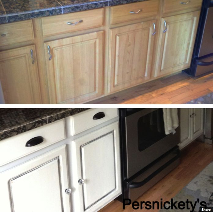 Painting Kitchen Cabinets – An Awesome Transformation — American Paint Company