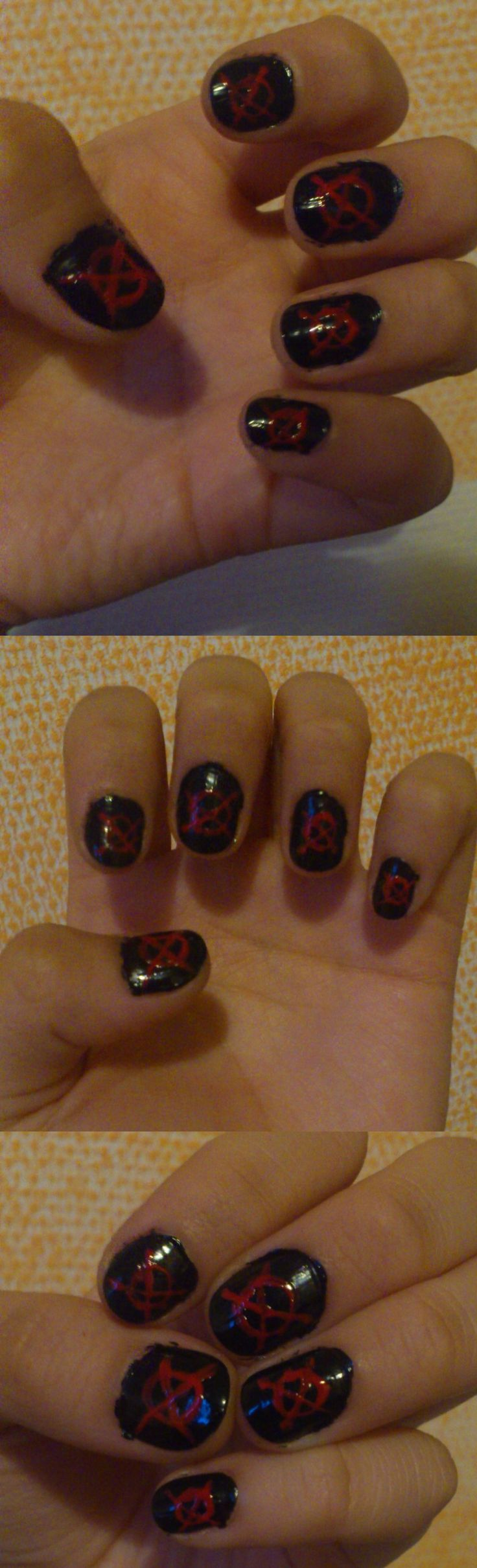 Proxy Nails by xArachnoFreakx