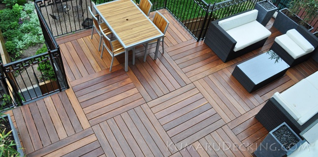 Kumaru Decking Low Maintenance Hardwood Gardening And