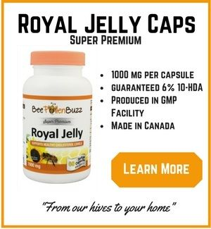 According to recent research, Royal Jelly may help treat depression and anxiety.