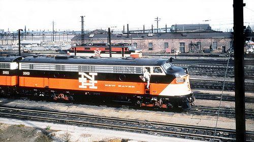 290 best penn central new haven images on pinterest for New penn motor freight tracking