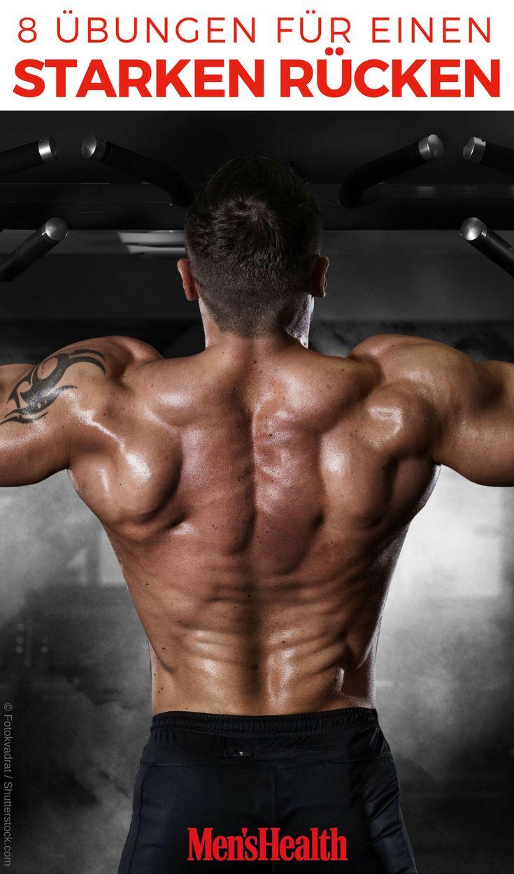 8 starke Übungen für einen gesunden Rücken – Men's Health Deutschland