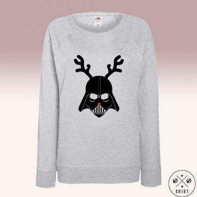 Bluza ze świątecznym Darthem Vaderem <3 Christmas sweatshirt with Dart Vader ! Star Wars fan