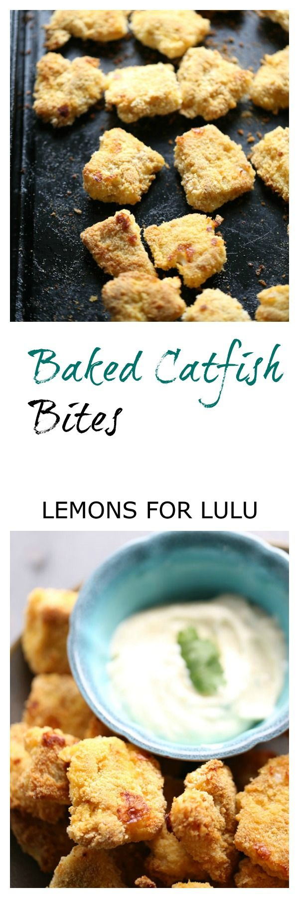 Baked catfish is dredged in a perfectly seasoned coating and then served with a simpel remoulade sauce. lemonsforlulu.com