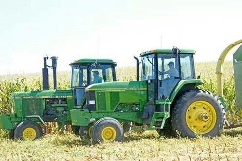 JOHN DEERE 4440 & 7200 From  15 years apart