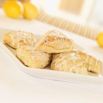 Glazed Lemon Scones