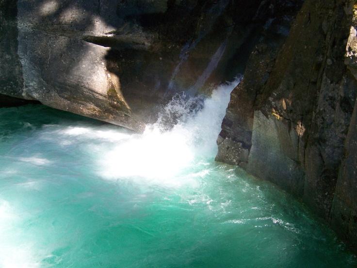 Johnston Canyon Falls