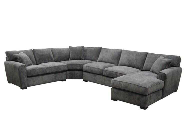 Jonathan Louis Choices   Artemis 4 Piece Sectional With Upholstered Base   Fashion  Furniture   Sofa Sectional Fresno, Madera