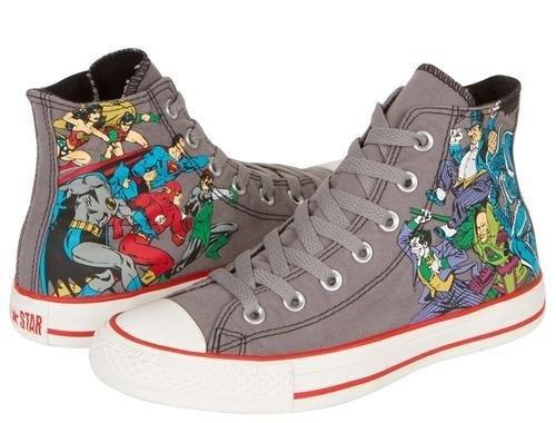 Converse Chuck Taylor All Star Hi Top DC Comic Heros Grey/Print Canvas Shoes 122146F Mens 5/ womens 7 Converse,http://www.amazon.com/dp/B00CG98GJ0/ref=cm_sw_r_pi_dp_AwXCrb715DEF4F92