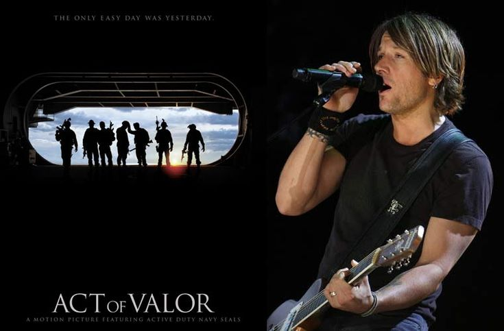 """Preview Keith Urban's New Song """"For You"""" On The 'Act Of Valor' Soundtrack"""