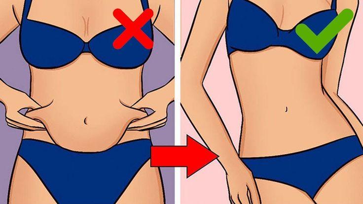Diese japanische Methode hilft dabei Bauchfett innerhalb kürzester Zeit...