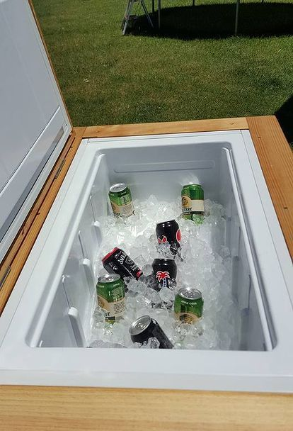 1000 Ideas About Patio Cooler On Pinterest Wooden