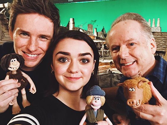 'Early Man' (2017) - Eddie Redmayne,  Maisie Williams & Nick Park