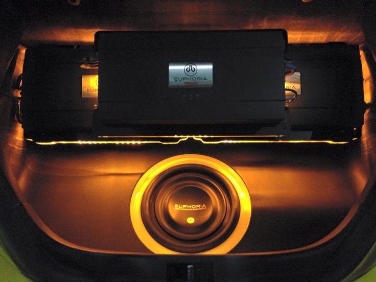 Euphoria Car Audio Amplifiers Install Volkswagen Beetle