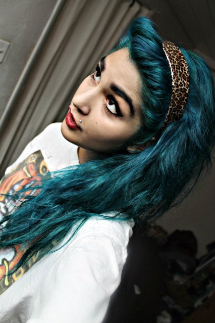 Best 25 Dark Teal Hair Ideas On Pinterest Teal Hair
