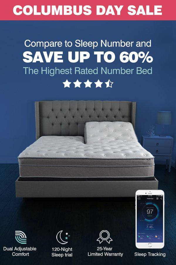 The Columbus Day Sale Is Here The Lowest Prices Of The Year Save Up To 60 Over Sleep Number Sleep Number Mattress Sleep Number Bed Frame Sleep Number Bed
