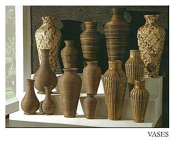 Ratanové vázy - C