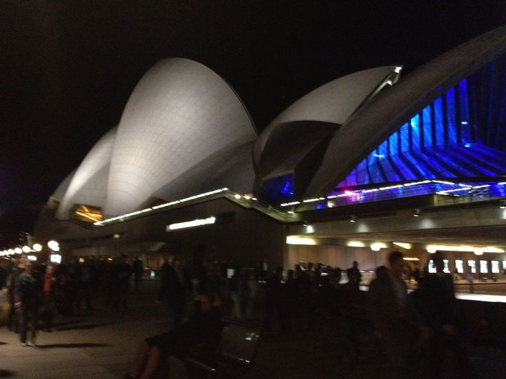 Attended a play at the Opera House September 2014