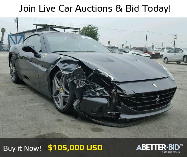 Salvage 2015 FERRARI ALL MODELS For Sale