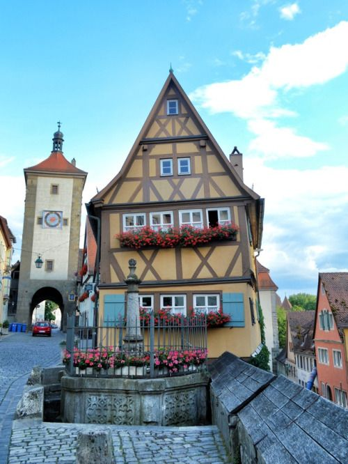 annajewelsphotography: Rothenburg ob der Tauber - Germany (by... IFTTT Tumblr