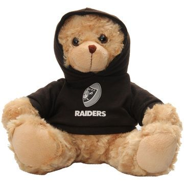"Oakland Raiders Bleacher Creatures 9"" Hoodie Bear"