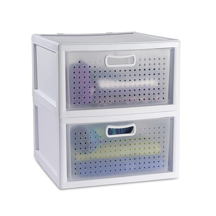 Sterilite Modular Closet Drawers
