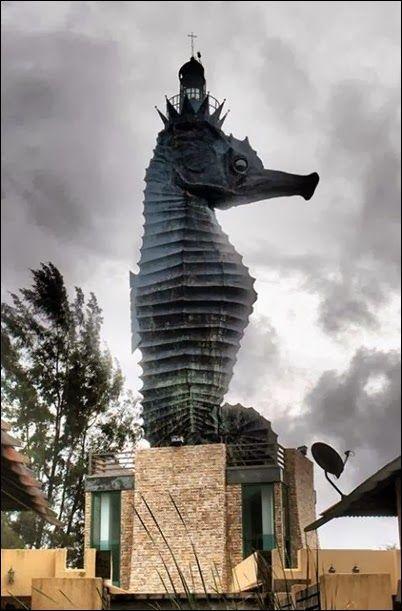 Seahorse Lighthouse - Miri, Malaysia