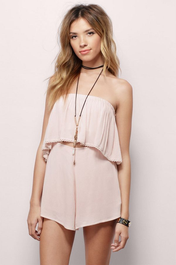 Ready to Rumble Strapless Romper at Tobi.com | New Arrivals | March 16'