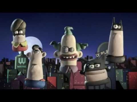 DC Nation Shorts - DCs Worlds Funnest #1 (Aardman) This is both adorable and hilarious at the same time!