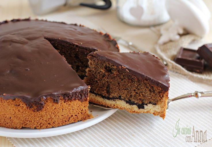 torta al caffè e nutella