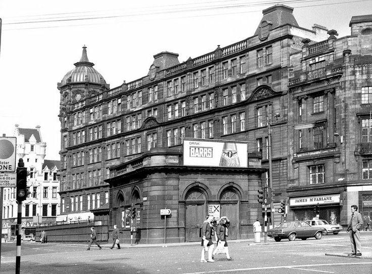 Glasgow Cross Station (Demolished 1977) - April 1973