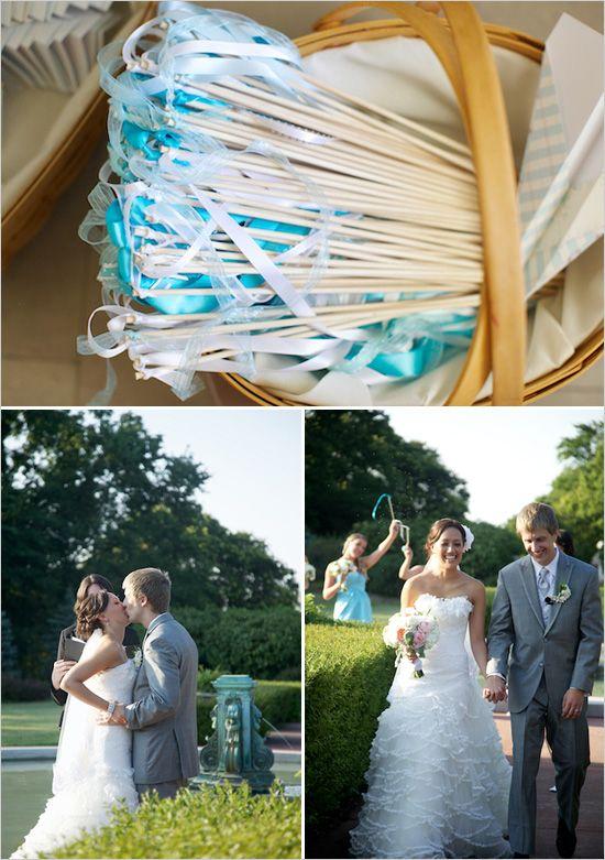Nice idea with ribbons  #aqua