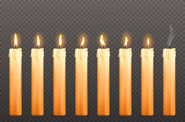 Download Candles With Different Fire Flames And Wax Drips For Free Yellow Candles Candles Candle Wax
