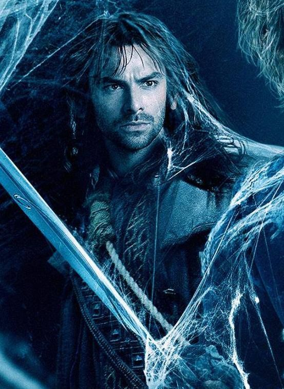 Kili from a banner for the new trailer for The Hobbit: The Desolation of Smaug, which will be unveiled tomorrow (Tuesday, October 1st) at 6am PT / 9am ET!