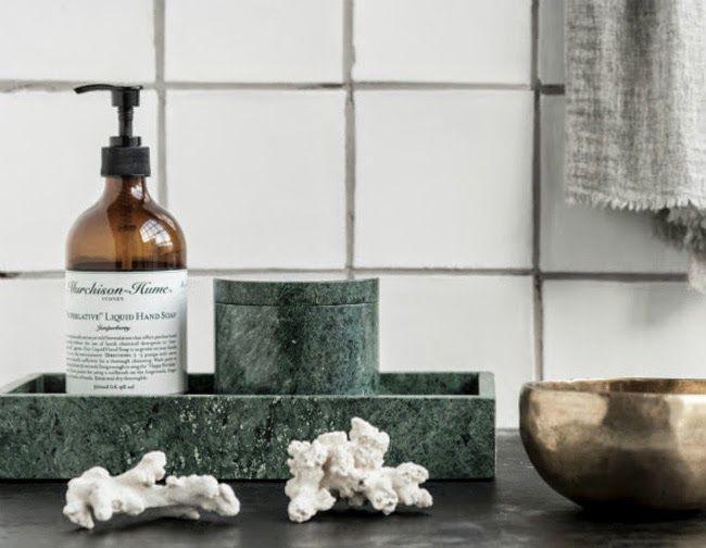 STIL INSPIRATION - green marble Nordstjerne | Walnut Street