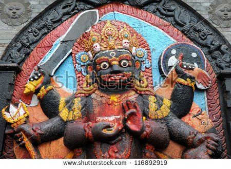 Kali God Stock Photos, Images, & Pictures | Shutterstock