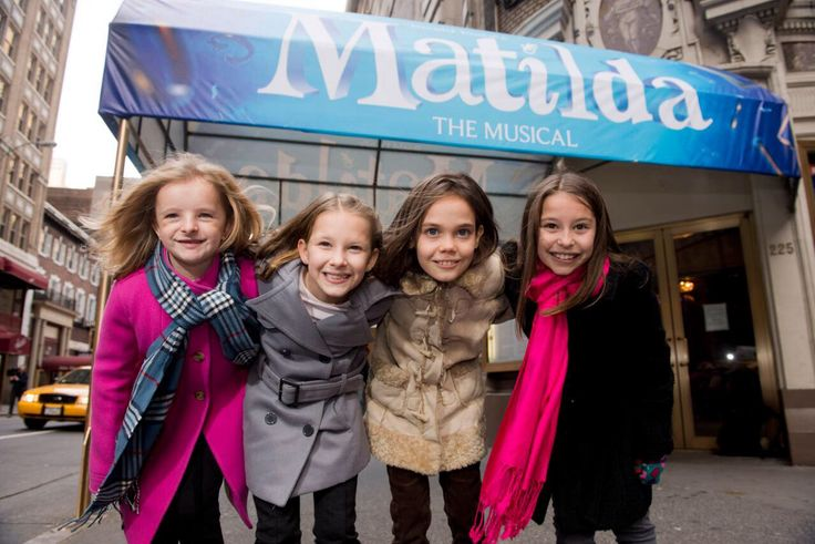 Meet the Broadway Matildas photoshoot: Matilda the Musical Broadway