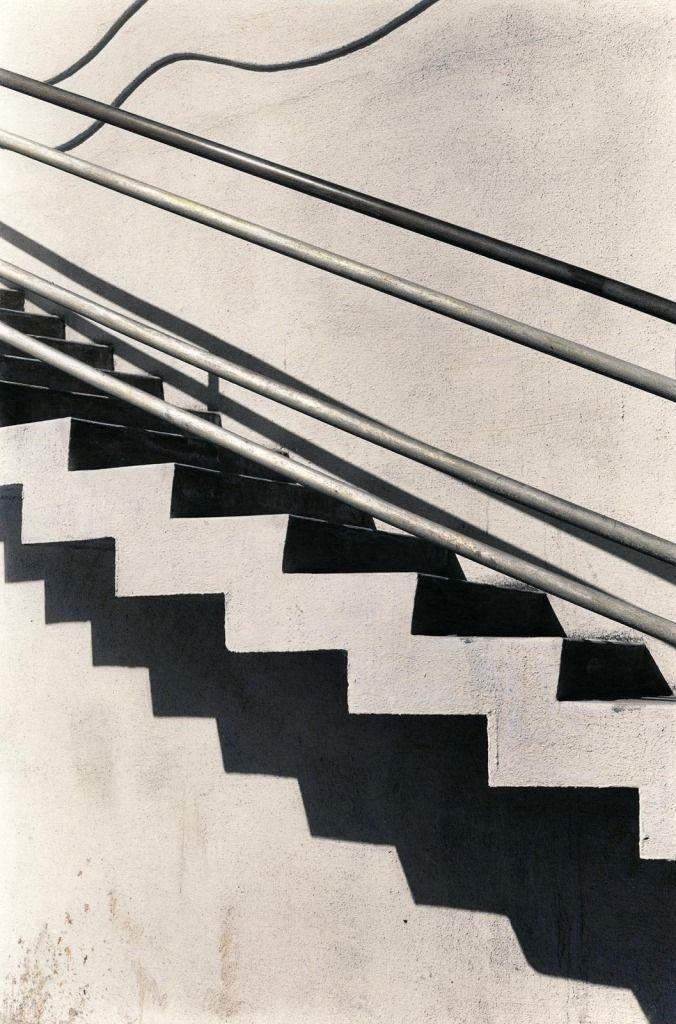 Photo Duane Monczewski, Cement Stairs, San Francisco, 1985