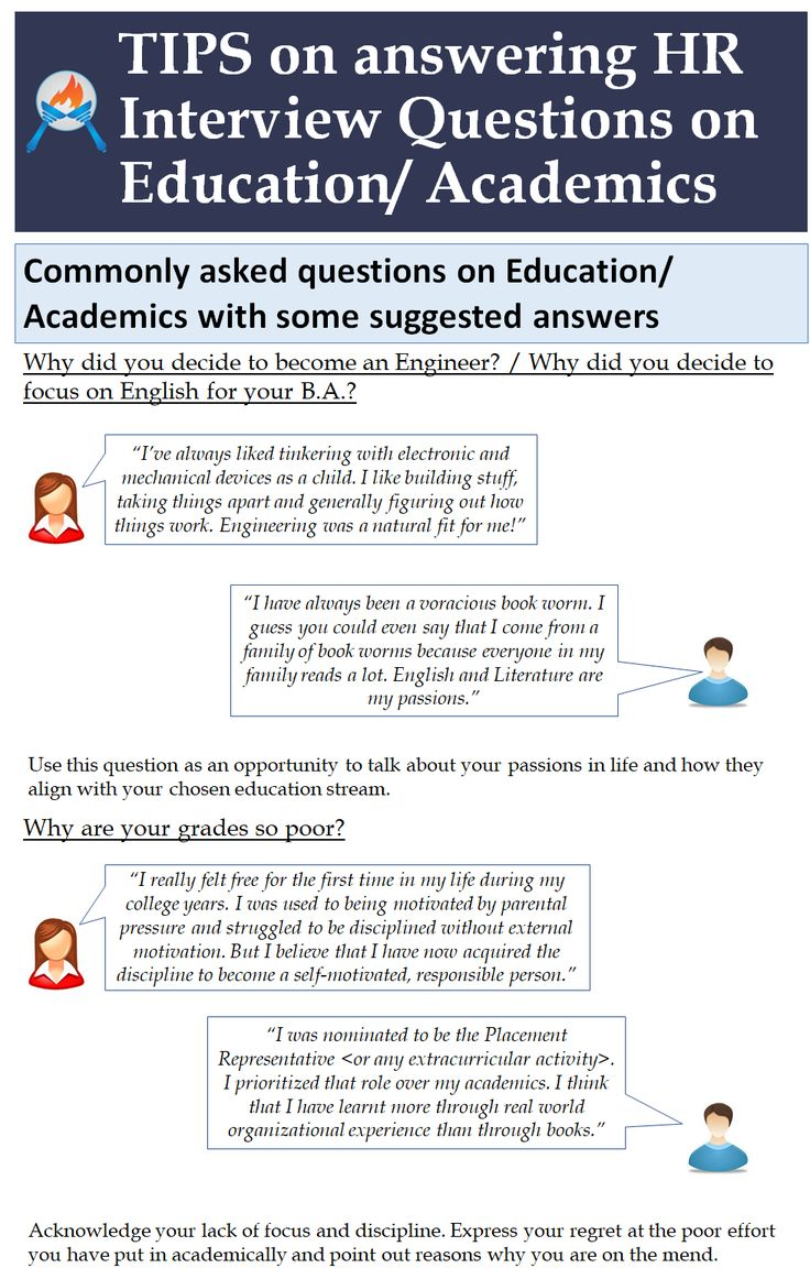 tips on answering hr interview questions on educationacademics httpslearningpundits - What Is Your Ability To Work Without Supervision Interview Question And Answers