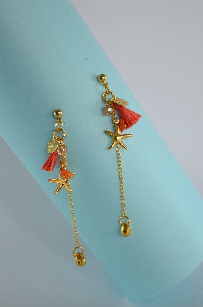 Earrings-Tassel-Amarone