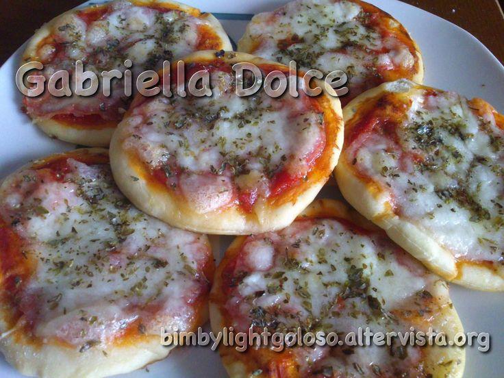 Pizzette delle Sorelle Simili | Bimby Light