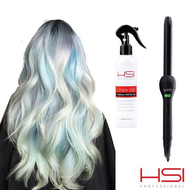 Get this amazing hairstyle with our Groover and Thermal Spray 🤘🏻 #hsiprofessional #arganoil #flatiron #straighthair #hairstyles #hairstyle #beauty #hsiproducts #instahair #haircare #love4hair #straightener #hairgoals #behindthechair #thermalspr