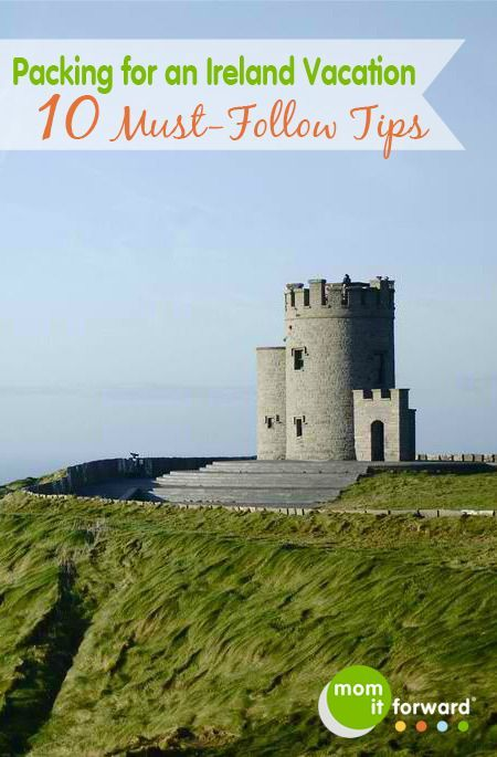 Ireland Travel: 10 Packing Tips for an Ireland Vacation.  I agree with everything but packing wellies. Just...  don't. Pack a water resistant pair of hiking boots instead.