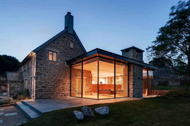 Attach a sunroom to old stone house   | Usual House